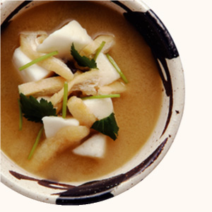 Photo of miso soup